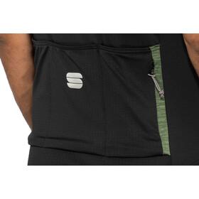 Sportful Giara Jersey Herren dry green/black/orange sdr
